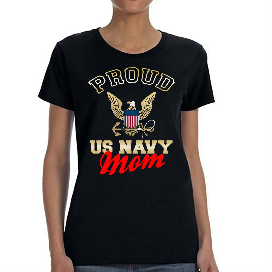 US Navy Mom, Proud Us Navy Mom Shirt