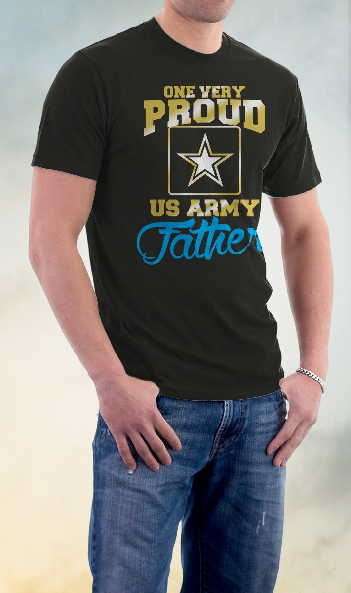 US Army Father, Proud Us Army Father Shirt