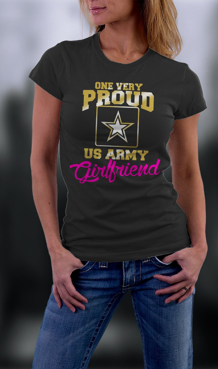 US Army Girlfriend, Proud Us Army Girlfriend Shirt