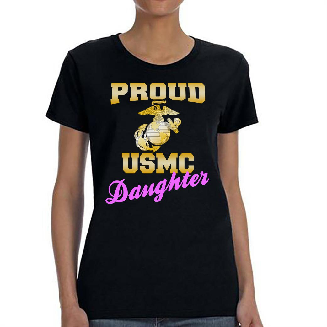 USMC Daughter, Proud USMC Daughter Shirt