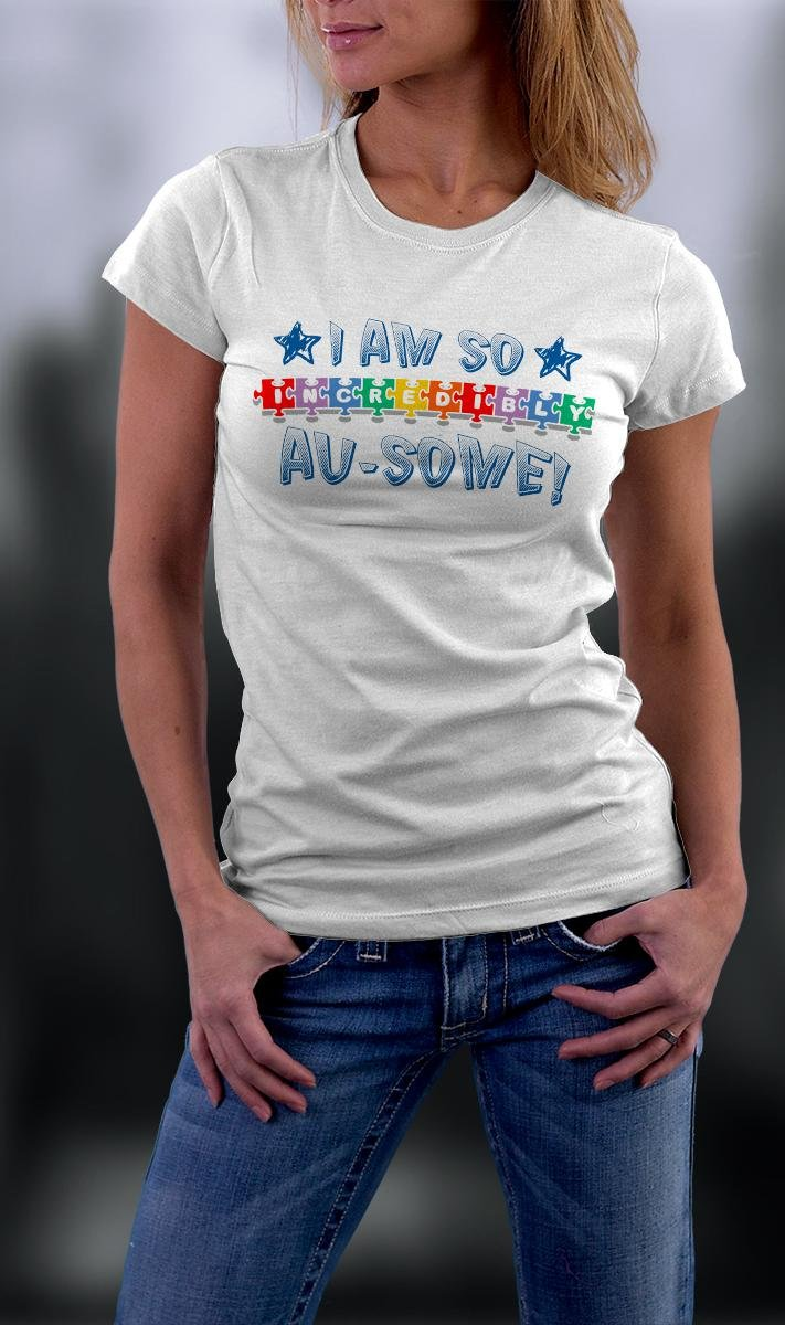 Autism Awareness, I Am So Incredibly Ausome Shirt