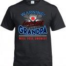 Lacrosse Grandpa, Warning Lacrosse Grandpa Will Yell Loudly Shirt