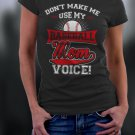 Baseball Mom, Mom Shirt, Don't Make Me Use My Baseball Mom Voice Shirt
