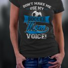 Soccer Mom, Mom Shirt, Don't Make Me Use My Soccer Mom Voice Shirt