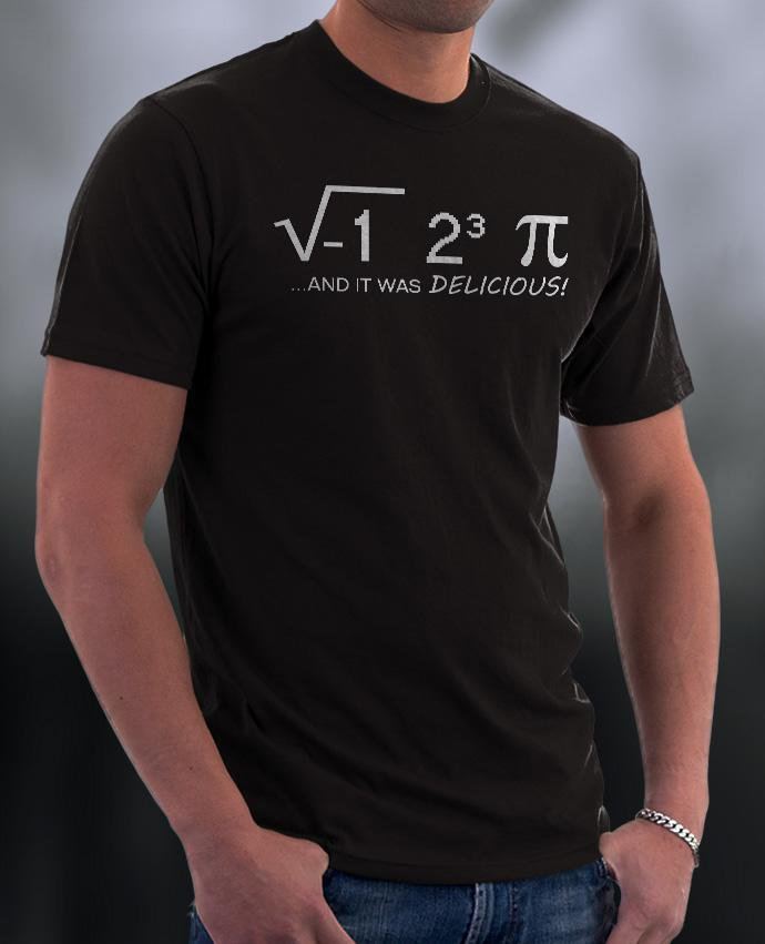 Math Shirt, And It Was DELICIOUS Shirt
