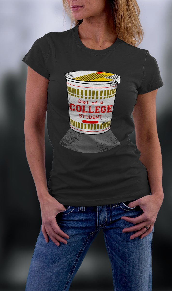 College Life, Diet Of A College Student Shirt