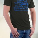 Dad, Thank's For Teaching Me How To Drive Without The Use Of Performance Enhancing Drugs Shirt