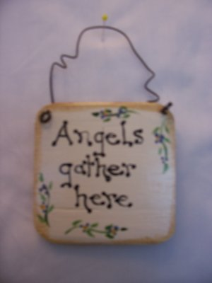 angels ornament handmade tree wall gift christmas party