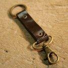 Engraved Keychain, Personalized Leather Keychain, Keyring, Keyfob, Bridesmaid Gift, Bestman Gift