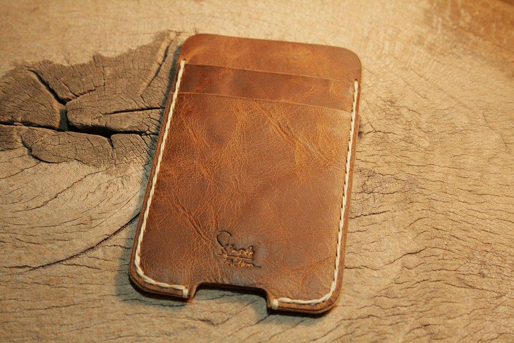 iPhone Case, Leather iPhone 4 Case, iPhone case with Pockets
