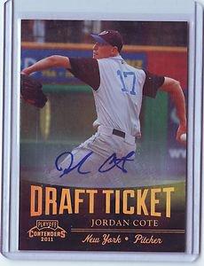 2011 Contenders Draft Ticket Autographs Jordan Cote
