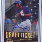 2011 Contenders Draft Ticket Autographs Jordan Akins