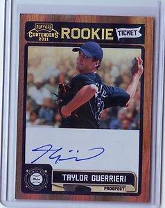 2011 Contenders Rookie Ticket Autograph Taylor Guerrieri