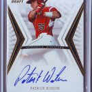 2012 Leaf Ultimate Draft Gold Patrick Wisdom Autograph #08/10
