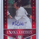2012 Elite Extra Edition Max White Auto #302/510