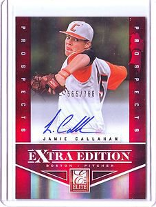 2012 Elite Extra Edition Jamie Callahan Auto #565/766