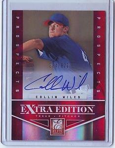 2012 Elite Extra Edition Collin Wiles Auto #234/622