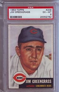 1953 Topp Jim Greengrass PSA 6