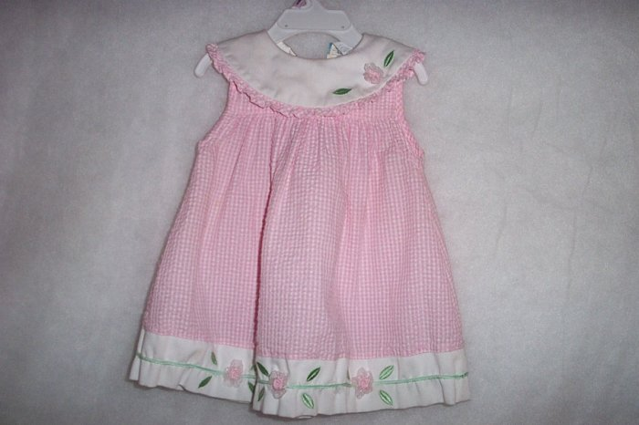 "2 Piece Seersucker Sundress ""Little Billy"" - Size 24 Months FREE SHIPPING"