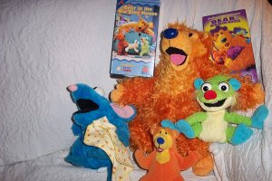 Bear (talking)  And The Big Blue House w/Friends & 2 Movies!!! - FREE SHIPPING
