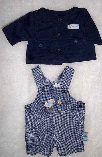 Preemie/Infant  Boy - 2 Piece Peter Rabbit  LIKE NEW FREE SHIPPING