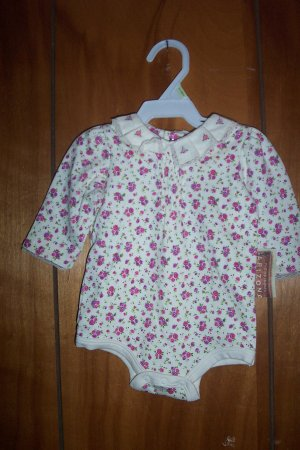 Infant Girl  Size 0-3 Mos.Onesie By Arizona Jeans Company NWT FREE SHIPPING