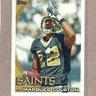 2010 Topps Football Marques Colston Saints #6