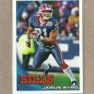 2010 Topps Football Jairus Byrd Bills #12
