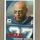 2010 Topps Football George Wilson Bills #13