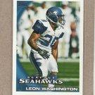 2010 Topps Football Leon Washington Seahawks #89