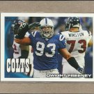 2010 Topps Football Dwight Freeney Colts #130