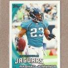 2010 Topps Football Rashad Jennings Jaguars #158