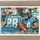 2010 Topps Football Panthers Team Card #171