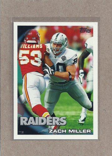 2010 Topps Football Zach Miller Raiders #207