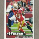 2010 Topps Football Josh Morgan 49ers #274