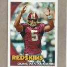 2010 Topps Football Donovan McMabb Redskins #350