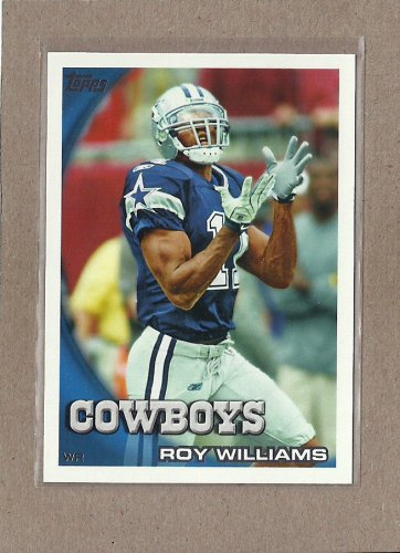 2010 Topps Football Roy Williams Cowboys #368