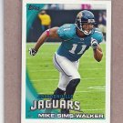2010 Topps Football Mike Sims-Walker Jaguars #391