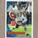 2010 Topps Football Johnny Knox Bears #406