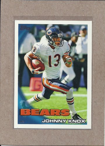 2010 Topps Football Johnny Knox Bears #406