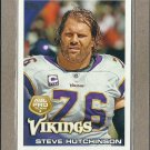 2010 Topps Football All Pro Steve Hutchinson #408