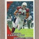 2010 Topps Football Anthony Becht Cardinals #409
