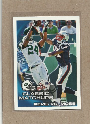 2010 Topps Football Classic Matchups Revis Vs Moss #24