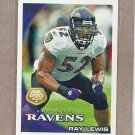 2010 Topps Football All Pro Ray Lewis #25