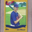 2010 Topps Baseball Cards Your Mom Threw Out Joe Mauer #CMT-109
