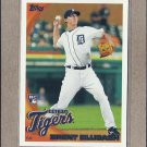 2010 Topps Baseball Brent Dlugach RC Tigers #293