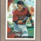 2010 Topps Baseball Chris Johnson RC Astros #384