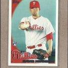 2010 Topps Baseball David Herndon RC Phillies #424