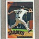 2010 Topps Baseball Dan Runzler RC Giants #442
