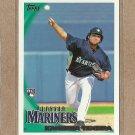 2010 Topps Baseball Kanekoa Texeira RC Mariners #457